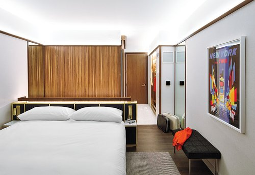 Stonehill Taylor Architects Thinks Midcentury Modern For Twa Hotel Guest Rooms Interior Design Magazine