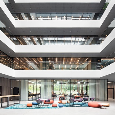 Ippolito Fleitz Group Helps Software Company AEB Explore New Territory In  Stuttgart, Germany
