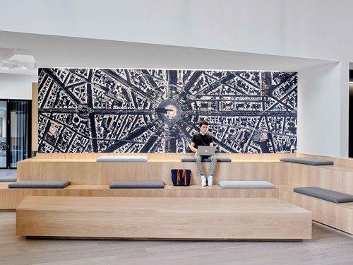 Rapt Studio Makes Tv Studio Turner S Atlanta Campus A Must See Interior Design Magazine