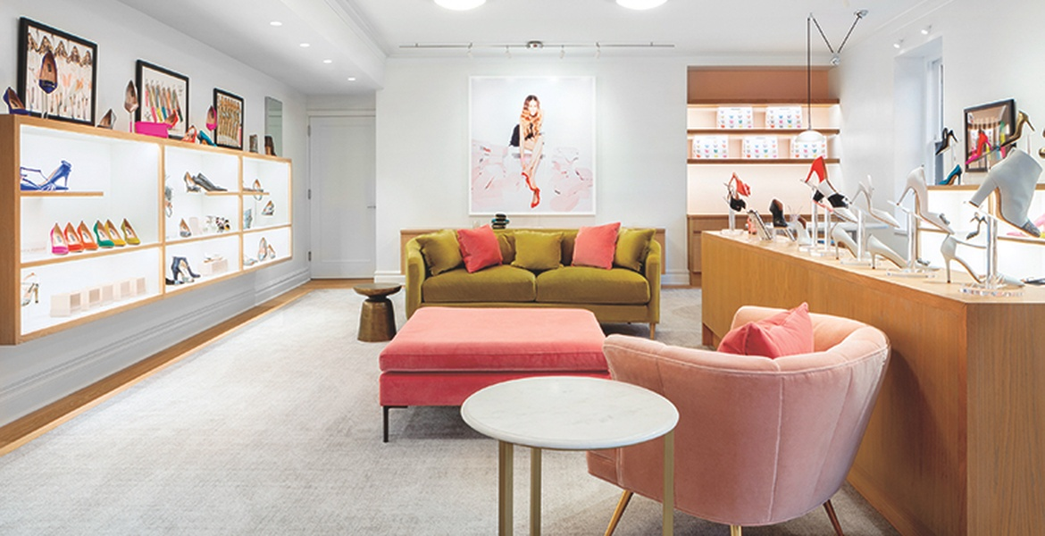 Cass Calder Smith Designs Sarah Jessica Parkeru0027s Second Shoe Store In NYC