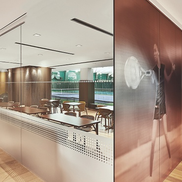 V Starr Interiors and DMAC Architecture Ace Chicago\u0027s Midtown Athletic Club & Interior Design Projects