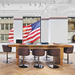 ENV Salutes Tommy Hilfiger's Patriotic Traditions at the Fashion Brand's NYC Office