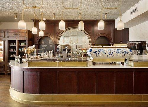 Jessica Helgerson Interior Design Brews Up A Stumptown Cafe In A Brooklyn Firehouse Interior Design Magazine