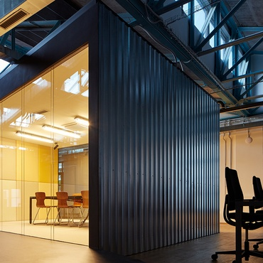 Kurz Architects Designs A Skateboard Friendly Office For SinnerSchrader