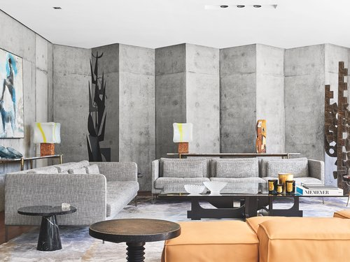 Mohammed Kabbaj Builds A Brutalist Villa On The Site Of His Childhood Home In Casablanca Interior Design Magazine