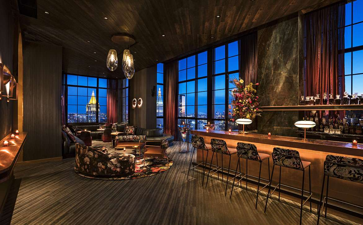 Four Hot New Rooftop Bars In NYC