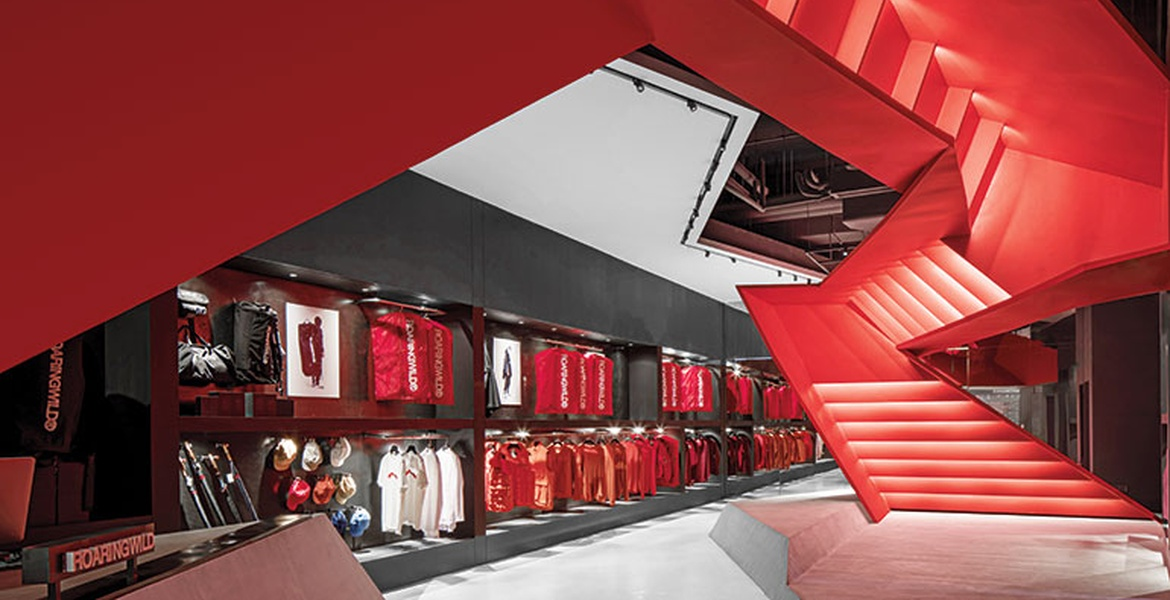 Domani Goes Literal And Symbolic For Teen Streetwear Flagship In China