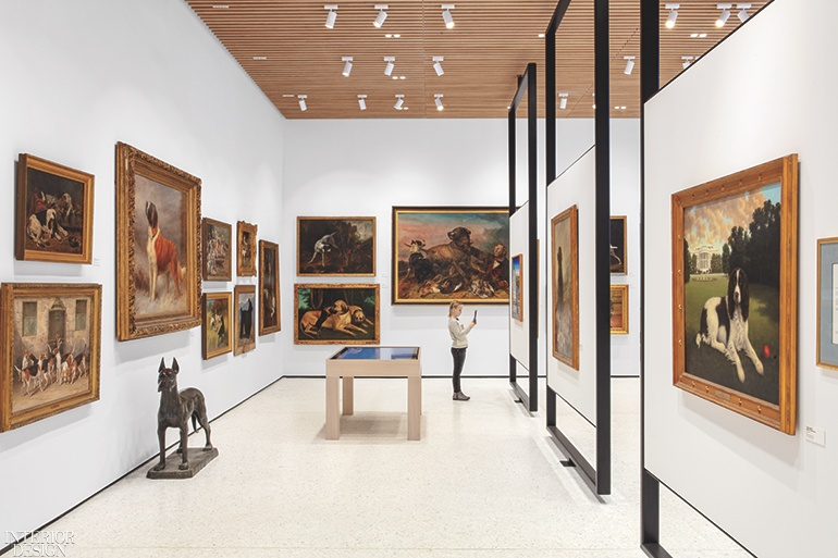 Corner Exhibition Stands Dog : Gensler designed american kennel club museum of the dog in new