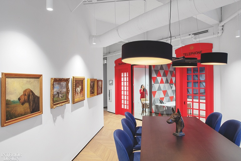 Corner Exhibition Stands Dog : Gensler designed american kennel club museum of the dog in