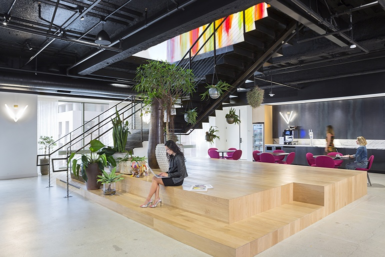 Strange Convene Collaborates With Hok And Gensler On Two Co Working Home Interior And Landscaping Eliaenasavecom