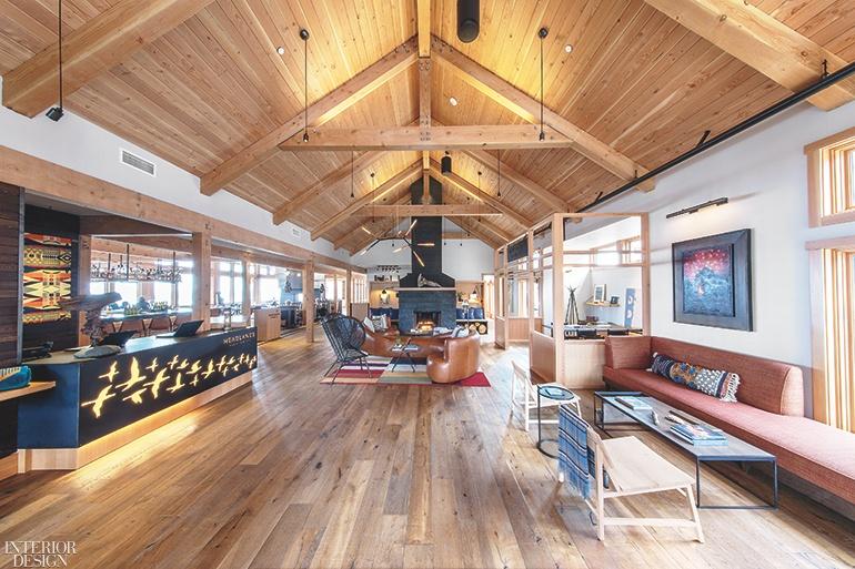 captivating contemporary coastal interior design | 22 Cool and Captivating Hotel Lobbies