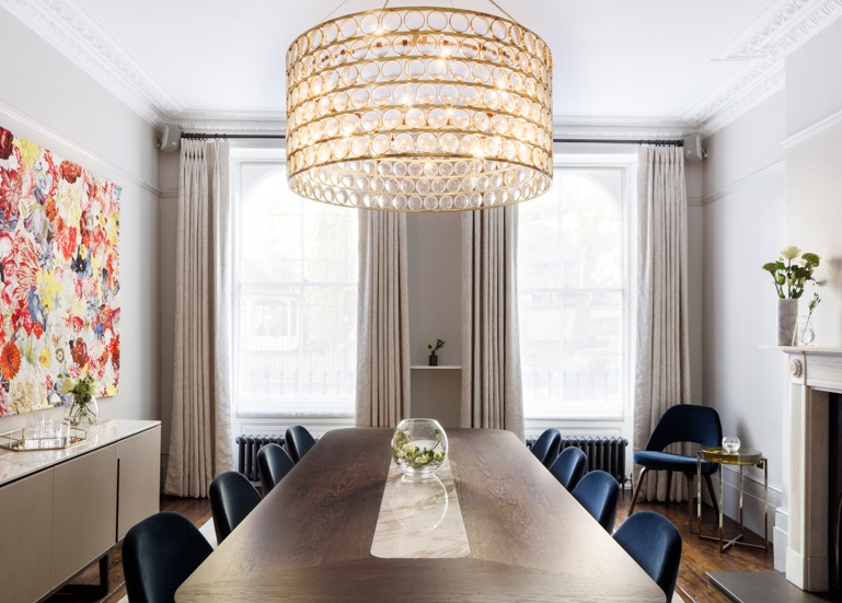 MoreySmith Renovates A 19th Century London Townhouse With Mix Of Luxe And Historical Details