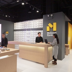 Material Bank Lab, Offering Speed and Sustainability, Debuts at NeoCon
