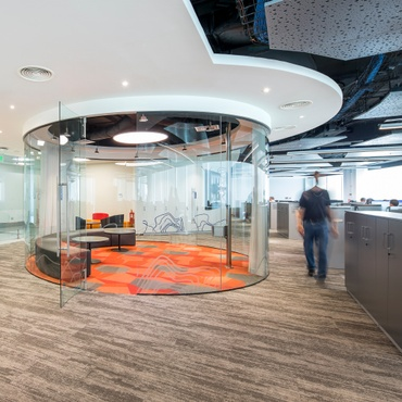 o arquitectos enhances a natural wonder for anglo americans chilean headquarters - Office Interior Design