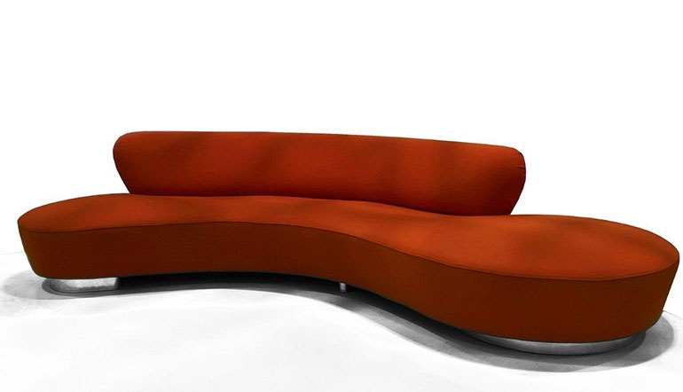 Serpentine Sofa. Image Courtesy Of Ralph Pucci International.
