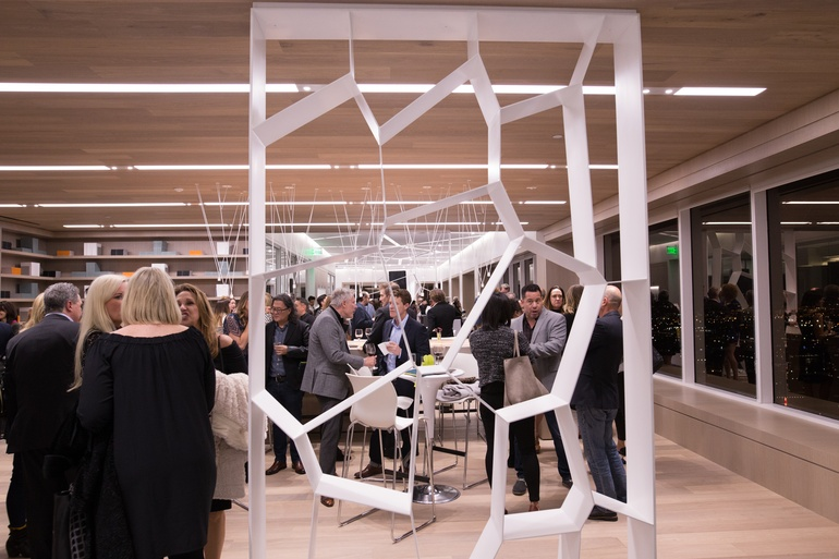Designers Gather At Teknions New Los Angeles Showroom