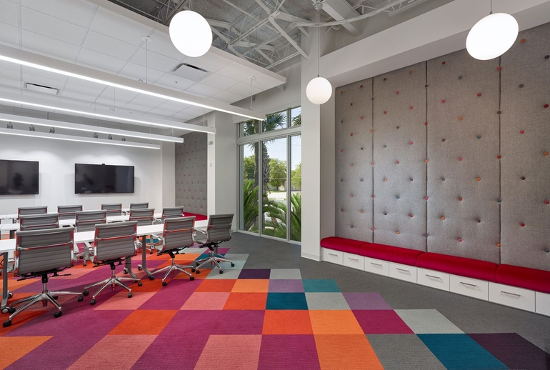 Monday motivation innovative new offices for Office design events
