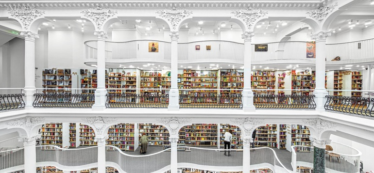 Carturesti S Newest Store In Bucharest Defies The Demise Of Books