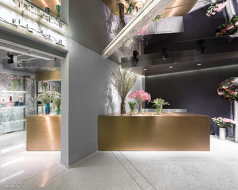 Tiny Shanghai Flower Shop With a Big Personality by Alberto Caiola