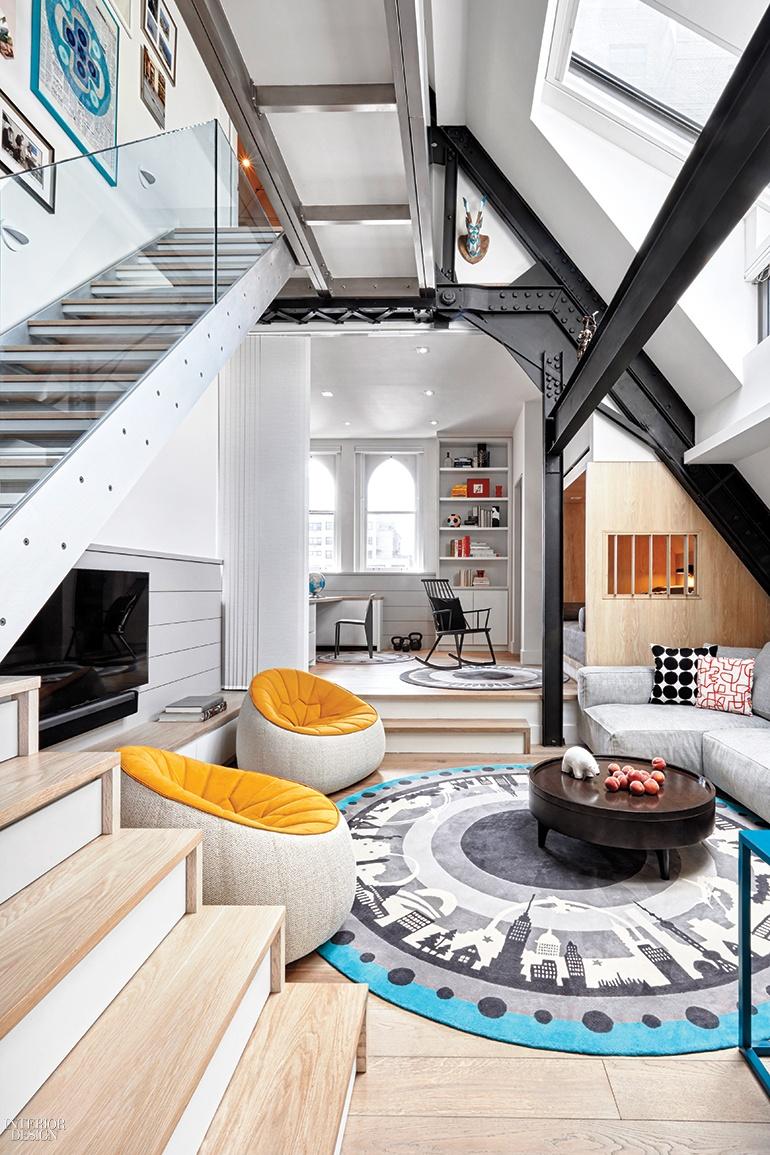 am mor architecture brings out the best in a tiny manhattan duplexDuplex Home Design #21