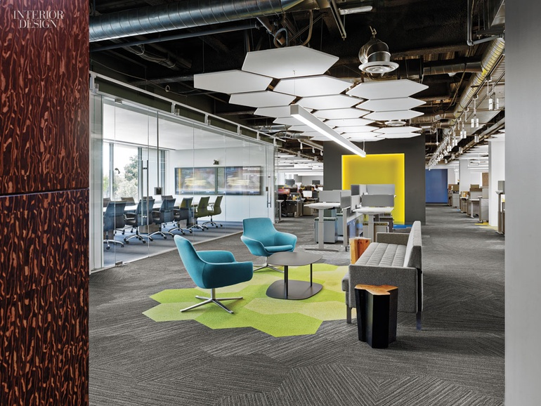 4 tech and finance companies rock out at the office for Office space design companies