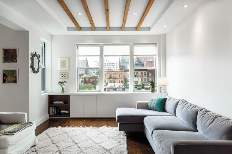 bStudio Brings Open, Airy Layout to East Village Family Apartment