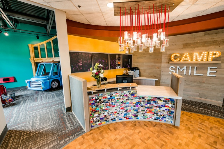Camp Smile In Excelsior, Minnesota By Shea, Inc. Category: Ambulatory Care  Centers   Medical Practice Suites. Image Courtesy Of The IIDA.