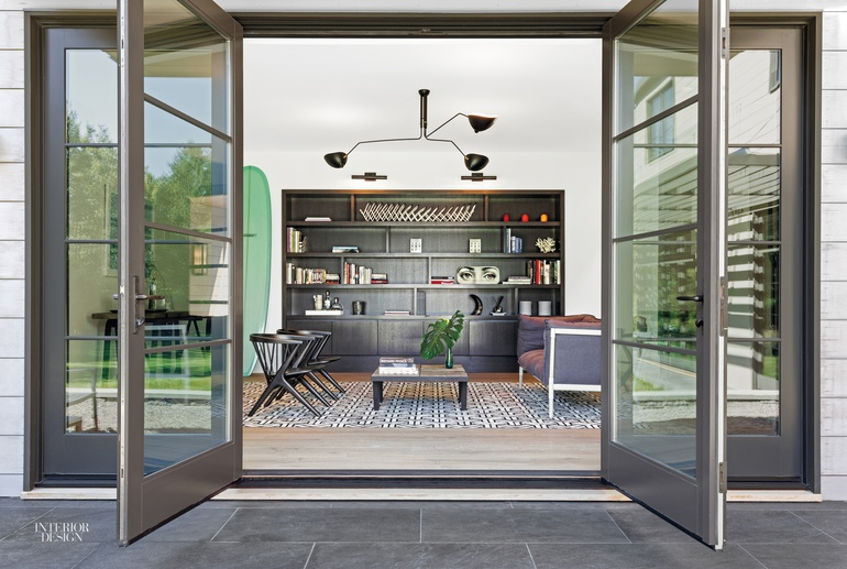 MODE Interior Designs And CCS Architecture Infuse A Hamptons Retreat With  West Coast Sensibilities