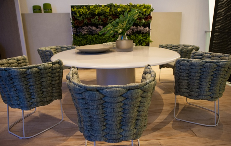 Paola Lenti Furniture At The DDC DesignPost Showroom In NYC. Photography By  Carlo Cipriani.