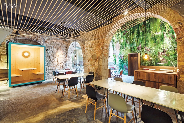 Firm Jordi Ginabreda Interior Design Studio Project La Bona Sort Site Barcelona Spain Standout Like The Past And Present Shaking Hands