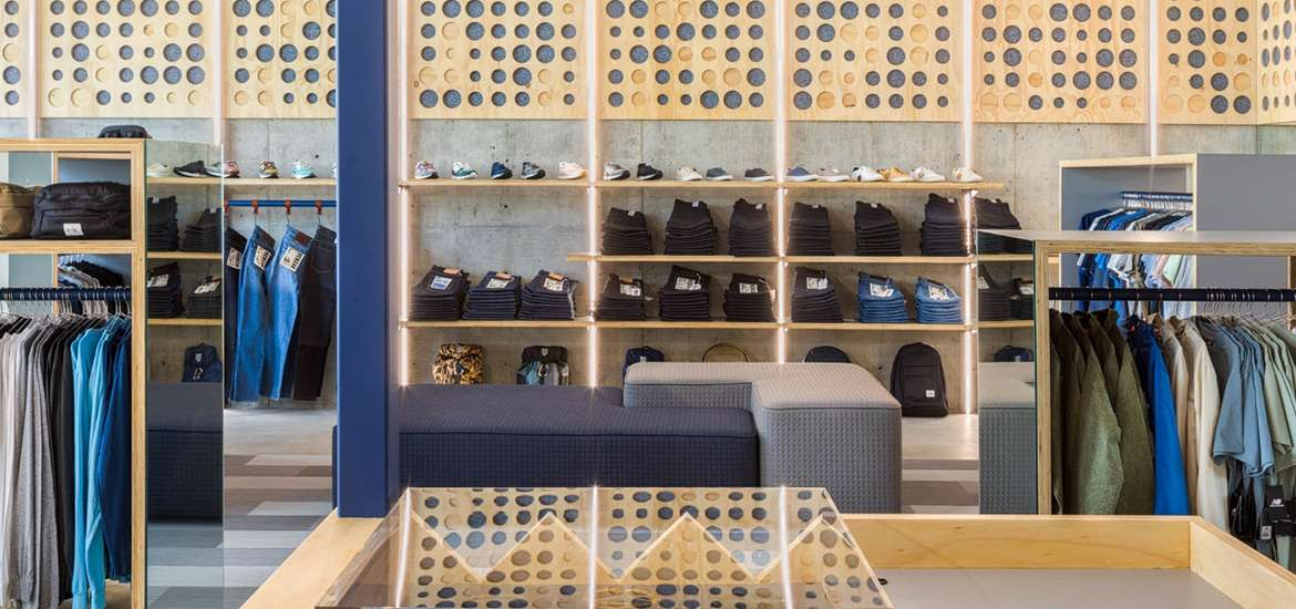 Best Practice Leans on Materiality for Seattle Menswear Boutique Eames NW & Interior Design