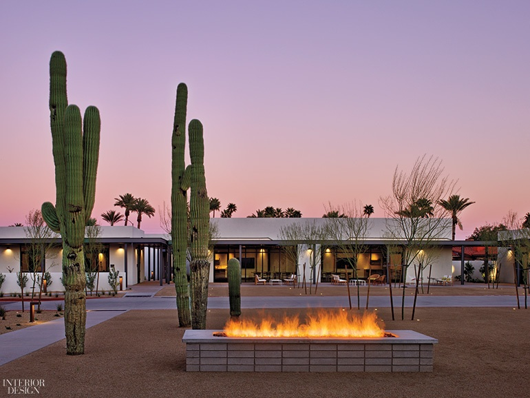 Edg and delawie craft a modernist oasis for andaz scottsdale for Scottsdale architecture firms