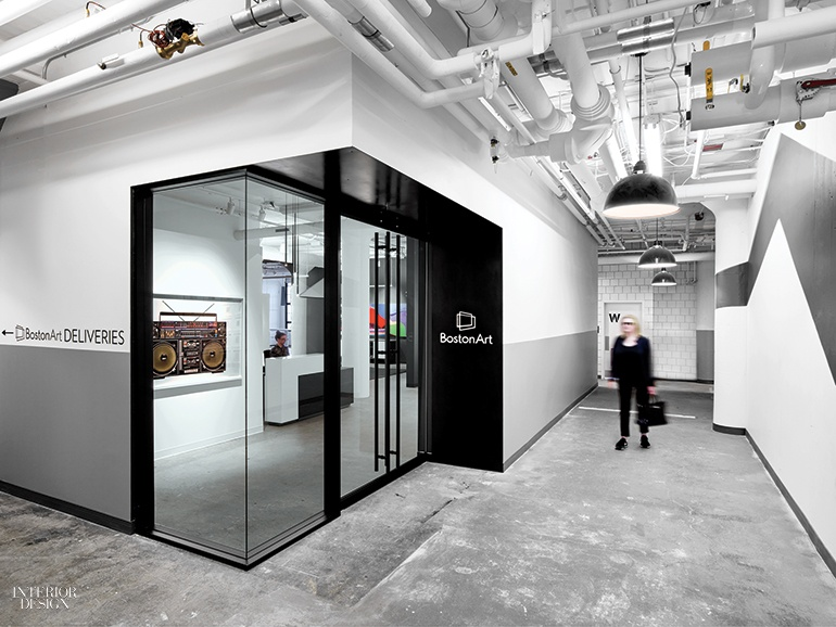 Art reigns supreme at boston art 39 s office by elkus for Design consultancy boston