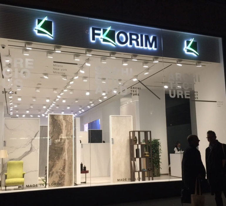 Florim Flagship Showroom in Manhattan