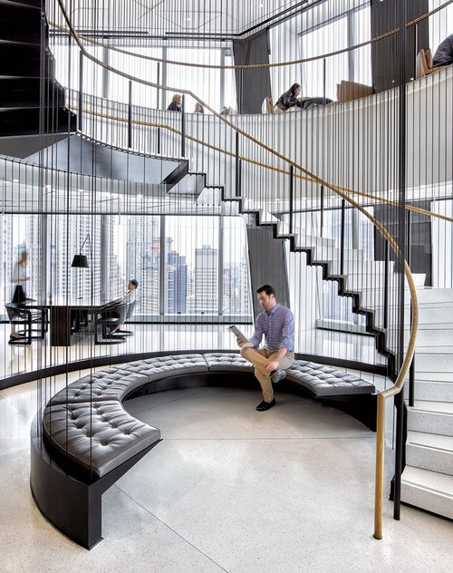 Condé Nast S 1 World Trade Center Hq By Gensler New York Interior Design Magazine