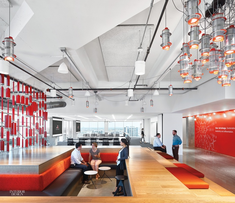 26 000 construction products used in hilti headquarters for A d interior decoration contractor