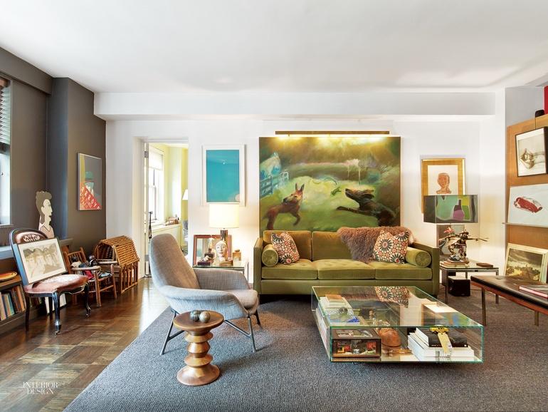 Inside Gensler Creative Director John Bricker S West Village Apartment