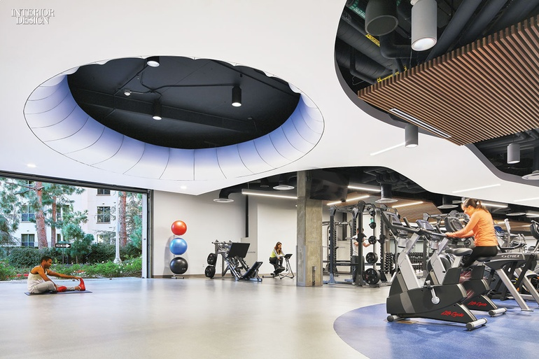 Beautiful John Friedman Alice Kimm Architects Converts UCLA Garage Into Airy Fitness  Center