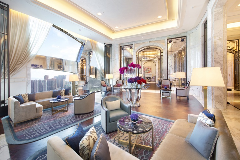 HBA Ranked 1 Overseas Work 88 Project The Ritz Carlton Lodge Location Macau Image Courtesy Of