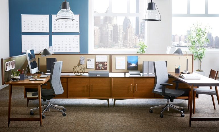 Idneocon interior design names people winners for third for Award winning office interiors
