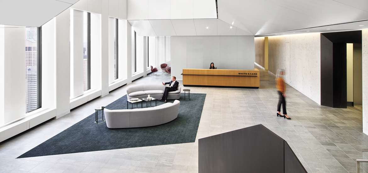 White Cases NYC Headquarters By HOK And HYL Architecture Is Calm Cool Collected