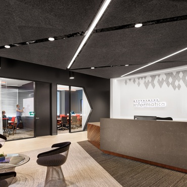 office interior design. Lauckgroup And Revel Architecture \u0026 Design Calculate Informatica\u0027s Data-Driven Office Interior
