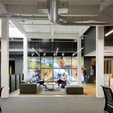 Bohlin Cywinski Jackson Equips Under Armour Connected Fitness With New  Office. Interior Design Projects