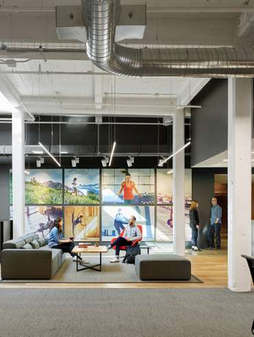 Bohlin Cywinski Jackson Equips Under Armour Connected Fitness With New  Office