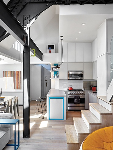 AM/MOR Architecture Brings Out The Best In A Tiny Manhattan Duplex. |  Residential