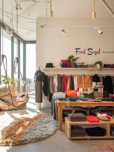 Fred Segal s Sunset Strip Boutique by Brand Studio Embodies California  Dreamin. Interior Design