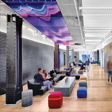Googleu0027s NYC Office By Interior Architects Has Eye Catching Features At  Every Turn Part 66
