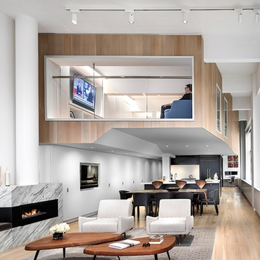 Joel Sanders Architect Reimagines A Funky West Village Duplex
