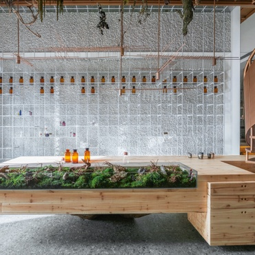 Molecure Pharmacy By Waterfrom Design: 2017 Best Of Year Winner For  Health/Beauty Retail