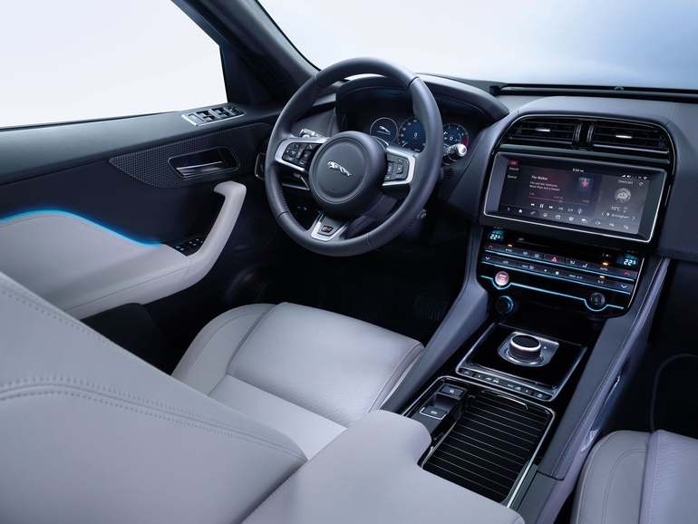 Captivating Jaguar F Pace Interior. Home Design Ideas